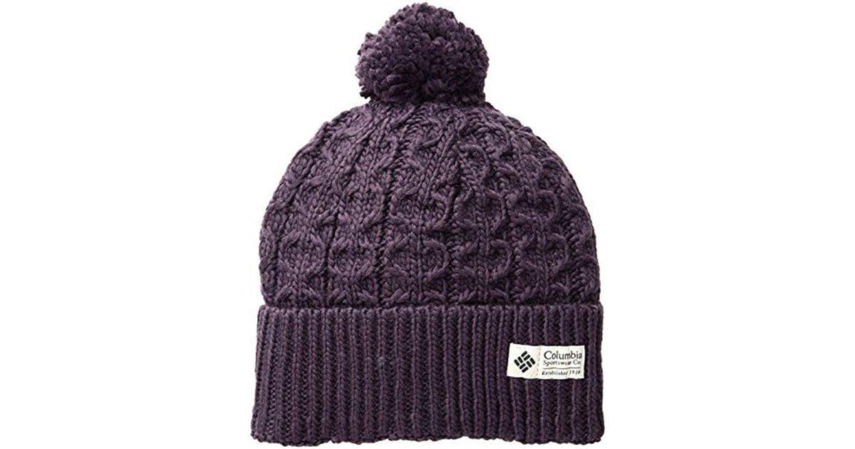 e55d1c595580a3 Columbia Hideaway Haven Beanie in Purple - Lyst