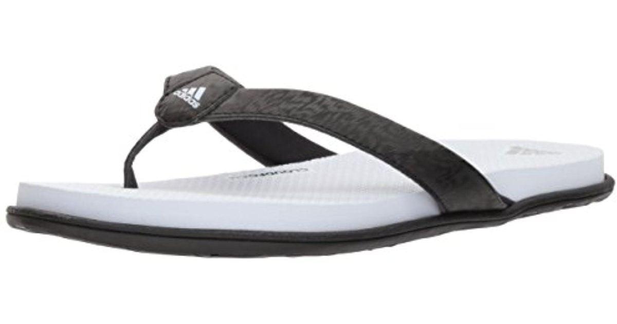 c668b3783 Lyst - adidas Cloudfoam One Y W Flip-flop in Black