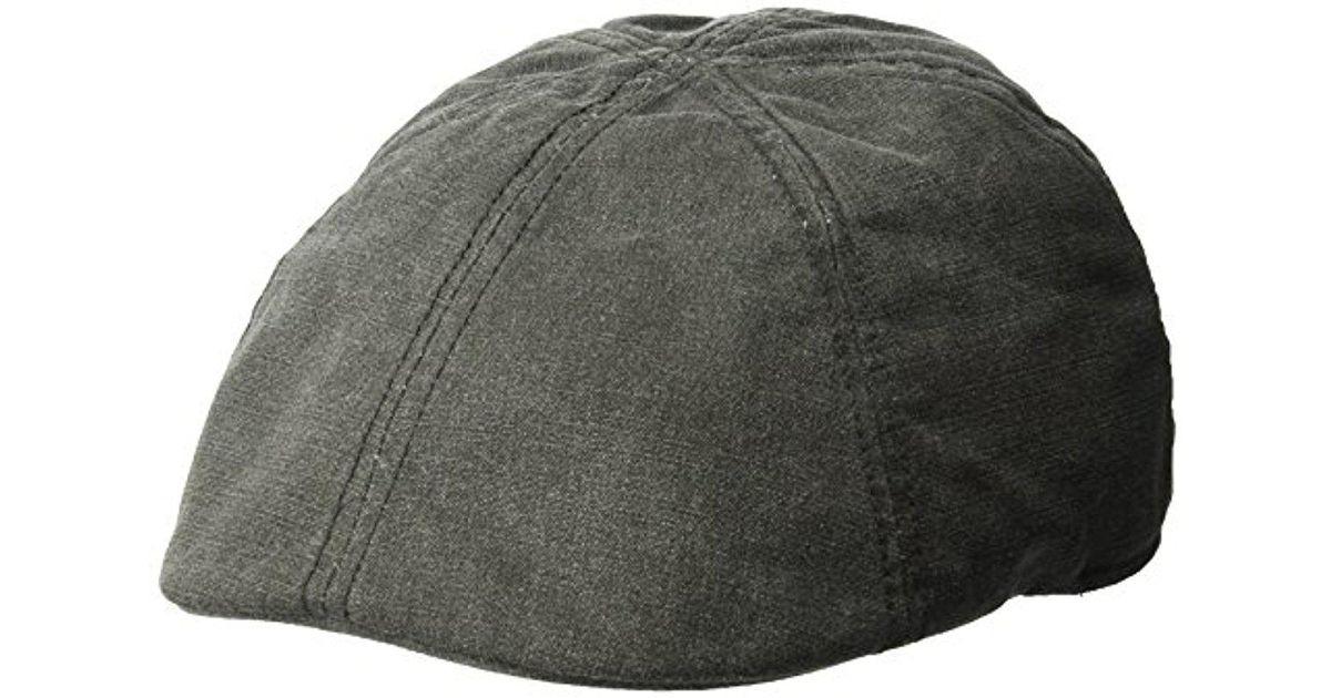 Lyst - Levi S Ivy Newsboy Hat in Black for Men dc44f1fd6da