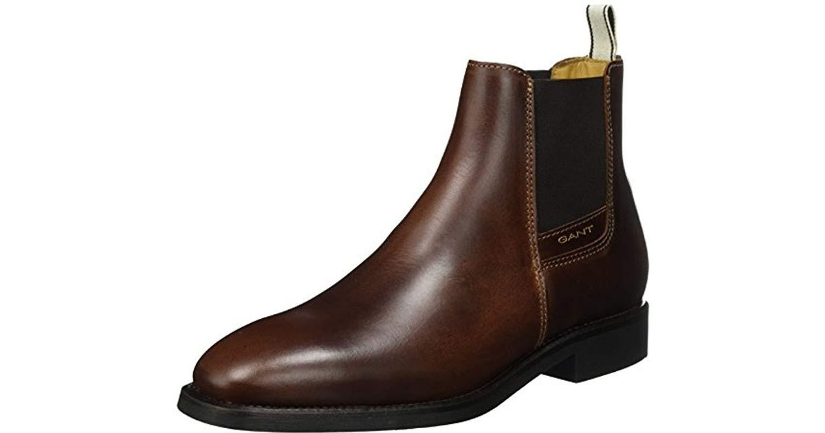low cost 01333 25a7d Gant Brown 's James Chelsea Boots for men