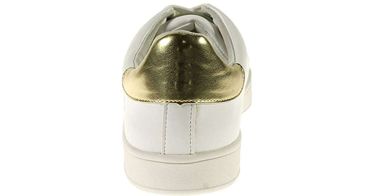 1e5f3c23218 Lyst - Steve Madden Rayner Fashion Sneaker in White