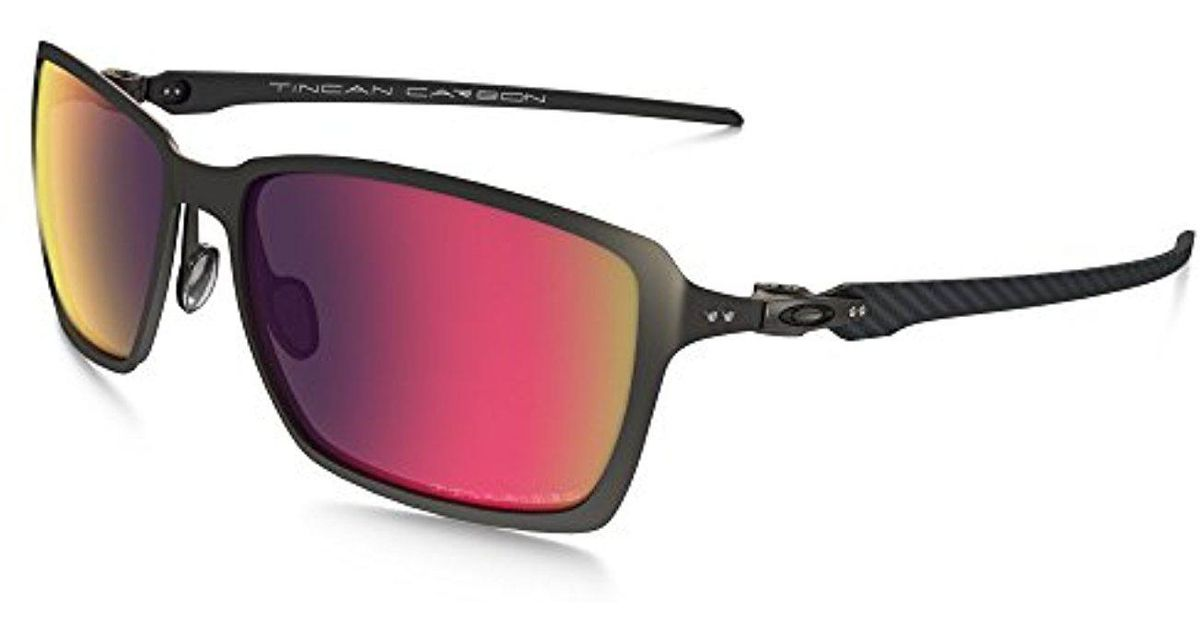 362d8caad581c Lyst - Oakley Tincan Carbon Polarized Iridium Rectangular Sunglasses for Men