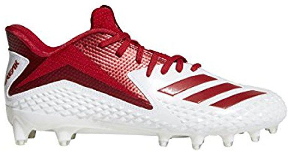 8cc11b728 Lyst - adidas Freak X Carbon Mid Football Shoe in Red for Men