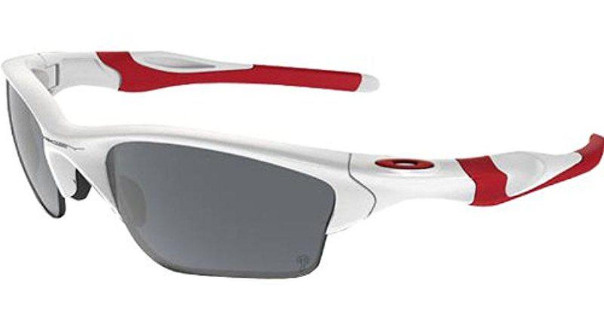 bff8b39abaf Lyst - Oakley Half Jacket 2.0 Xl Polarized Sunglasses in Red for Men