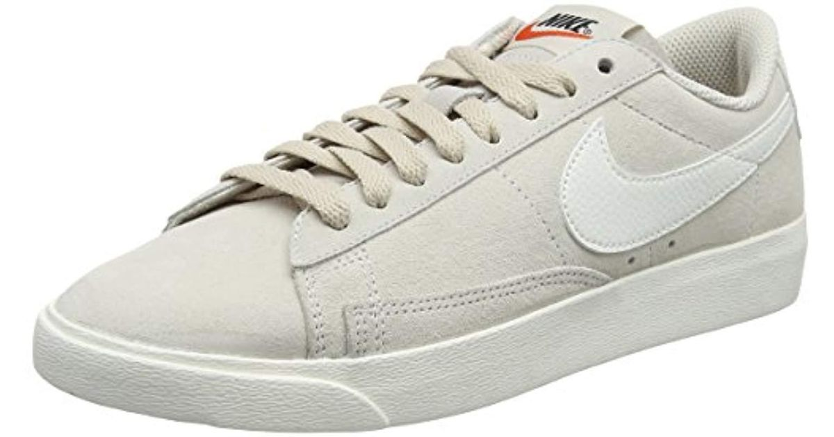 fe0b98946fc49 ... sale nike s w blazer low sd gymnastics shoes in natural lyst 5ed93 3b530