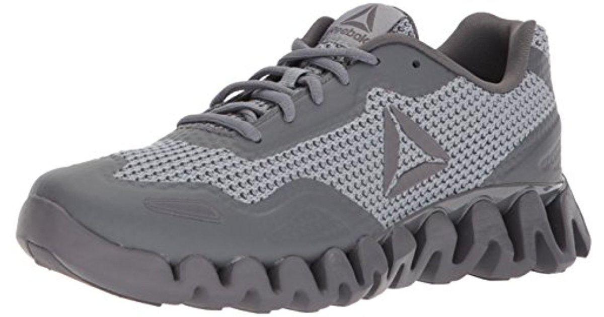 0471aaa714924a Lyst - Reebok Zig Pulse Running Shoe in Gray for Men
