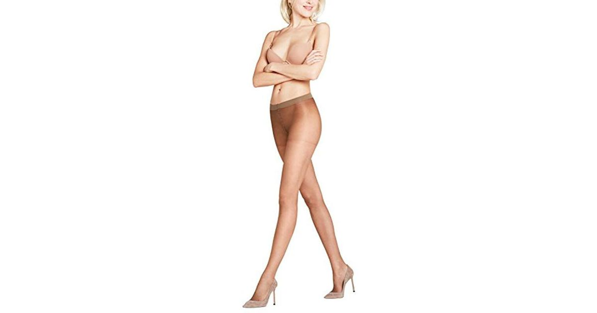 2a09314ad3041 Falke Invisible Deluxe 8 Den- Tights in Brown - Lyst