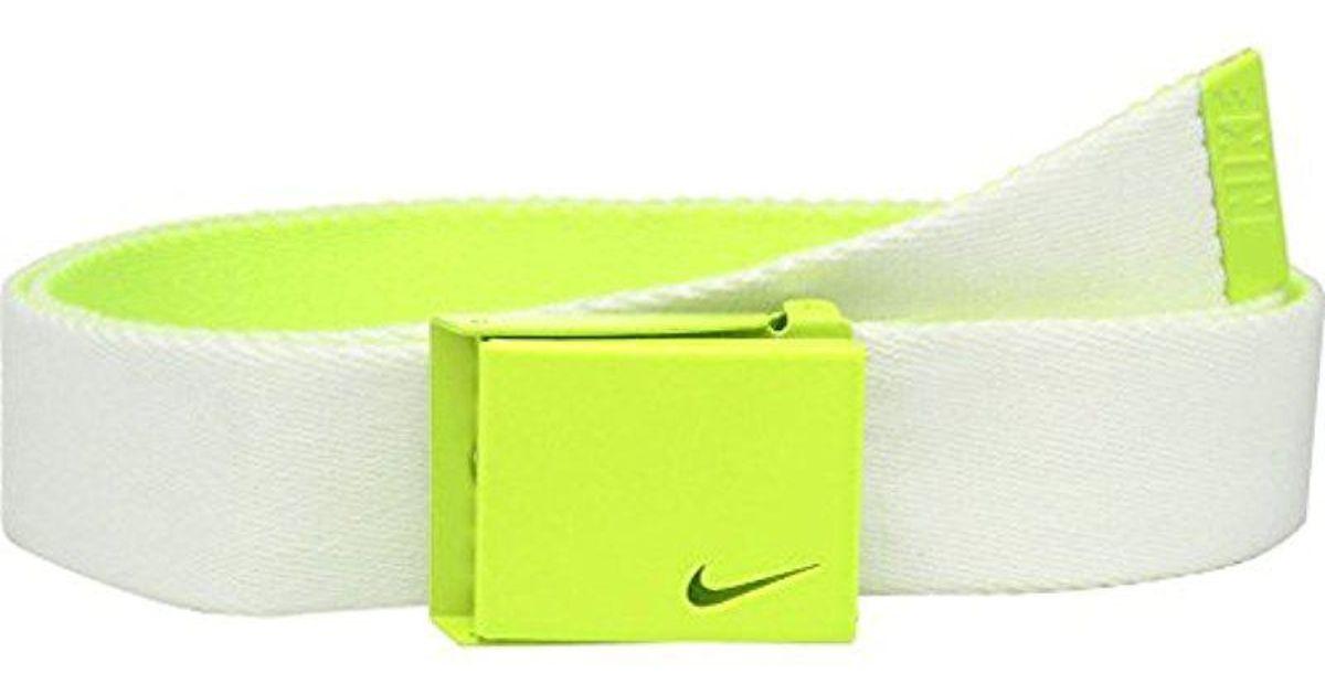 0f33b47d3665 Lyst - Nike New Tech Essentials Reversible Web Belt for Men