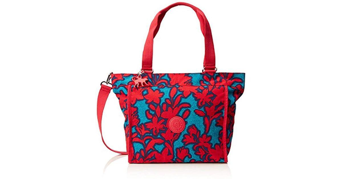 ae7d30a53474 Kipling S New Shopper S Shoulder Bag in Red - Lyst