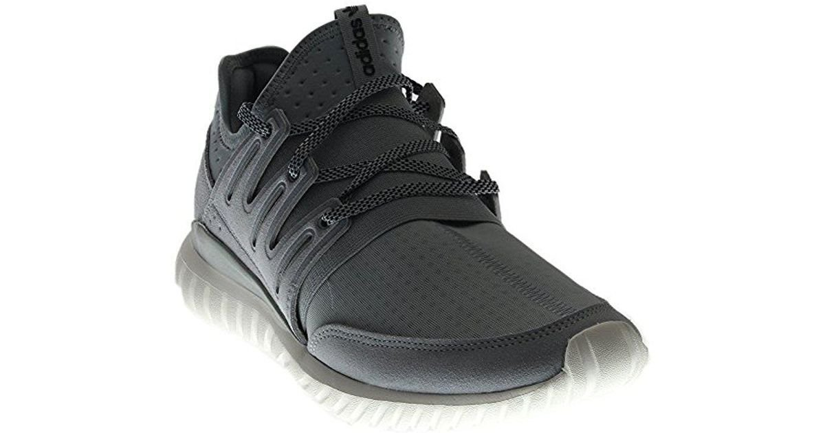 28a124d8323a Lyst - Adidas Originals Tubular Radial Fashion Sneaker in Gray for Men -  Save 20.967741935483872%
