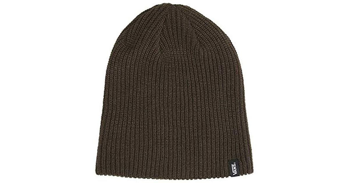 825a03094c Vans Mismoedig Beanie in Brown for Men - Lyst