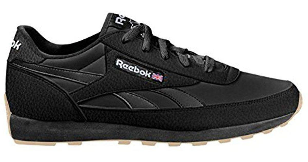 0a3988741c9c34 Lyst - Reebok Cl Renaissance Gum Classic Sho in Black for Men