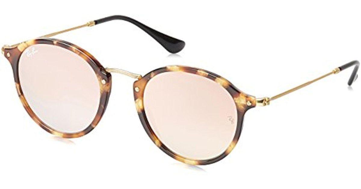 1eb3e51edf Lyst - Ray-Ban Classic Round Sunglasses