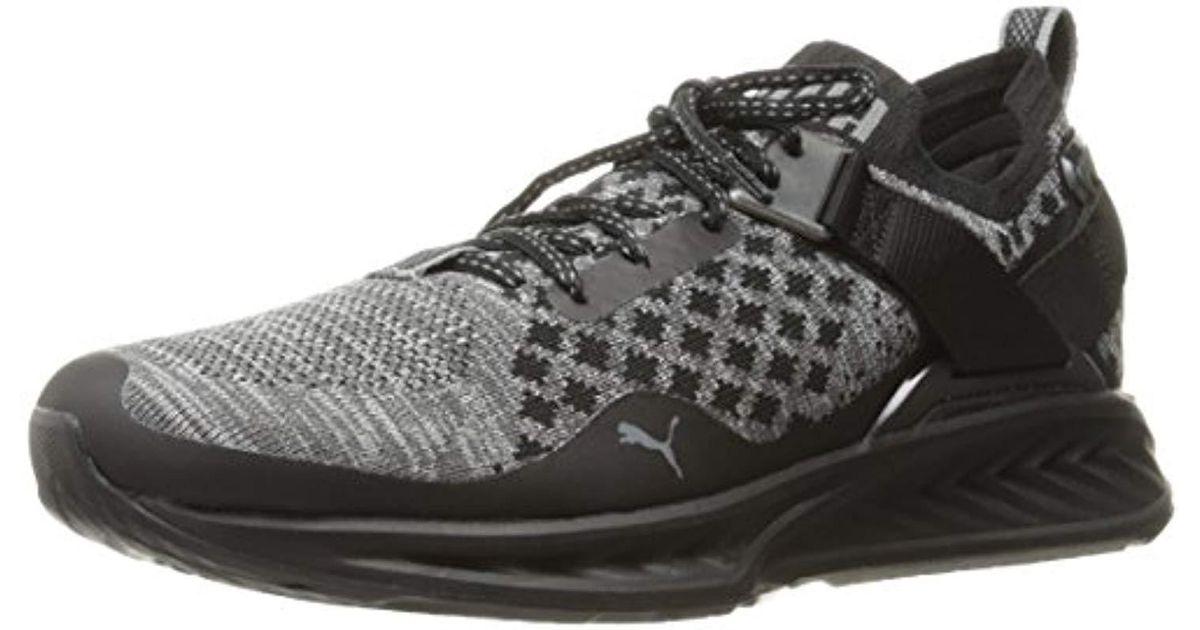 quality design f7647 bc87d PUMA - Black Ignite Evoknit Lo Pavement Wns Cross-trainer Shoe - Lyst