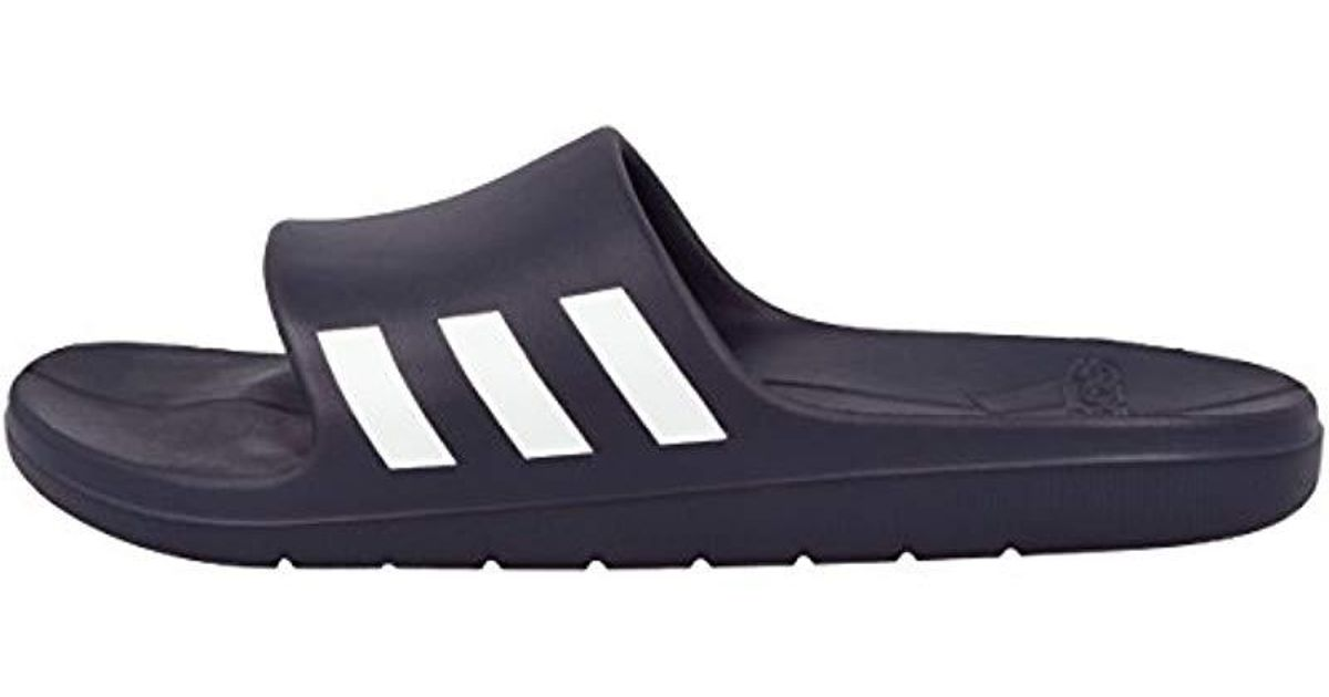 adcb5386b83675 adidas Aqualette Beach   Pool Shoes in Blue for Men - Lyst