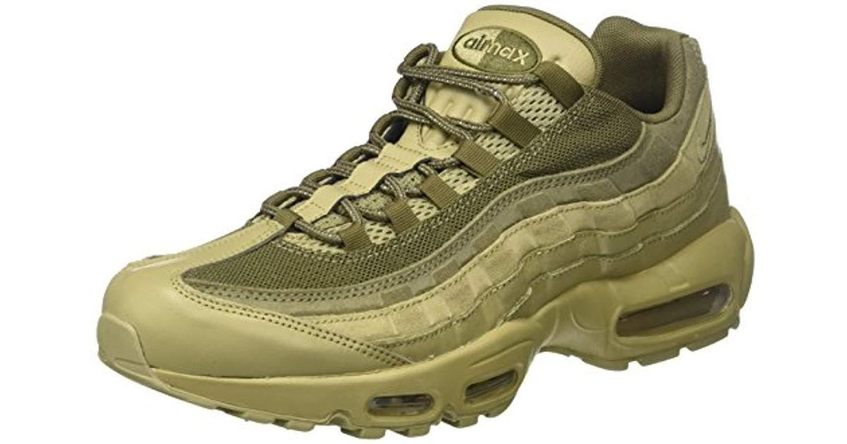 Nike Air Max 95 Prm Gymnastics Shoes in Green for Men Lyst