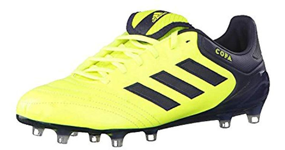 brand new 6de71 5500b Adidas Copa 17.1 Fg Football Boots in Yellow for Men - Lyst