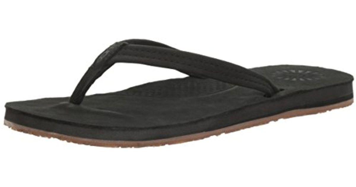 2e157a433d5 Lyst - UGG Kayla Flip Flop in Black for Men