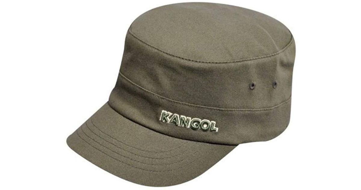 d3dd487b819de Kangol Flexfit Army Cap in Green for Men - Lyst