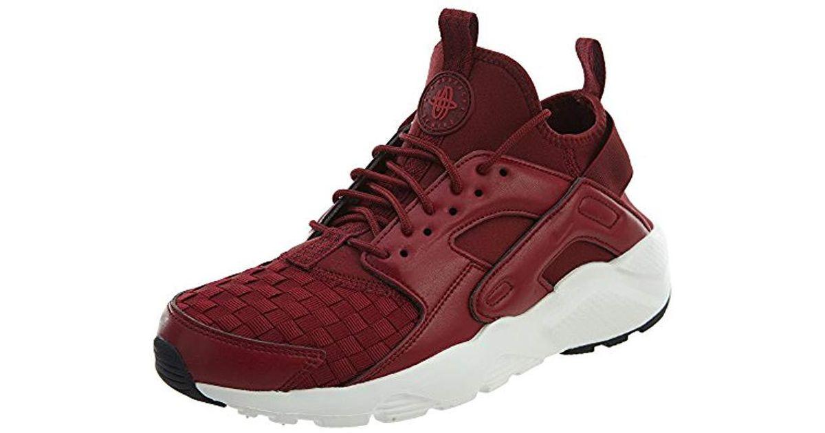 437ca21c219a Nike Air Huarache Run Ultra Se Gymnastics Shoes in Red for Men - Lyst