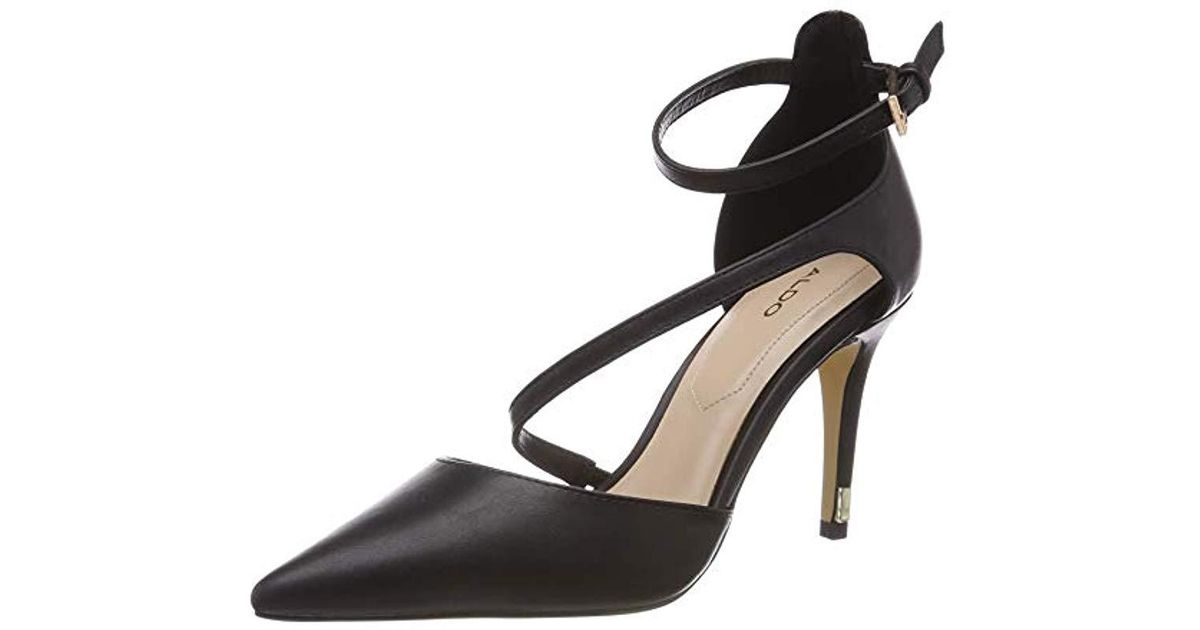 ad8dfd0cbd ALDO Vetrano Closed Toe Heels in Black - Lyst