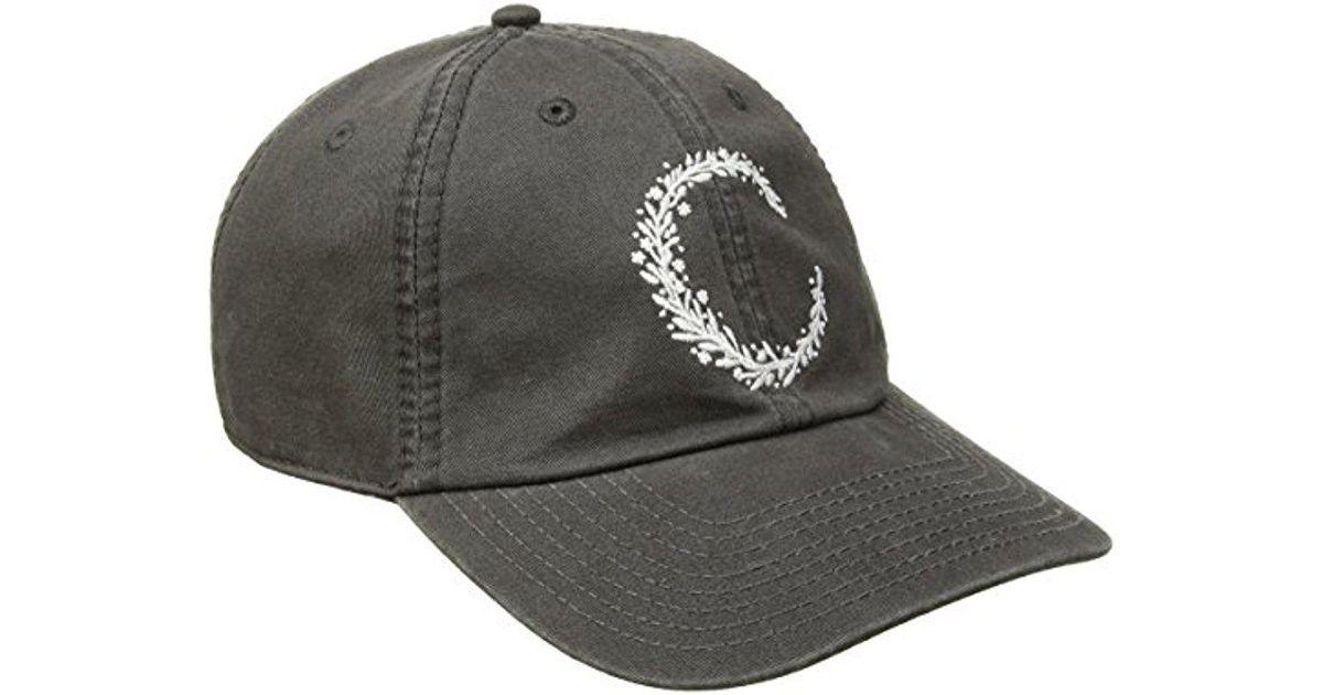 Lyst - O neill Sportswear Beach Please Washed Twill Baseball Cap in Gray  for Men cce9837faf1