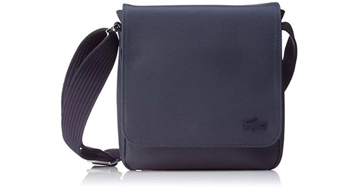 7bf2961701 Lacoste S Sac Homme Access Premium Shoulder Bag in Blue for Men - Lyst