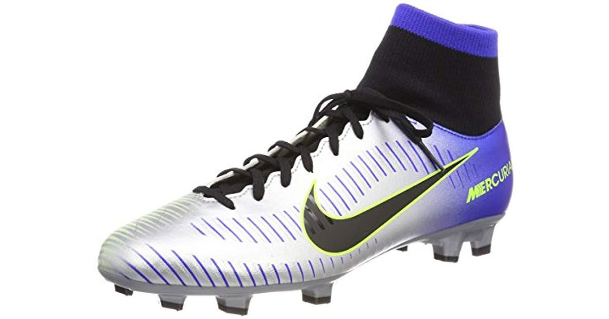 8d6f34a0046165 Nike Mercurial Victory Vi Df Njr Fg Football Boots in Blue for Men - Lyst