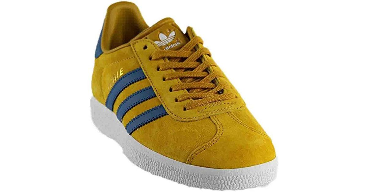 newest 60f78 17c01 Lyst - adidas Originals Gazelle Lace-up Sneakers in Yellow f