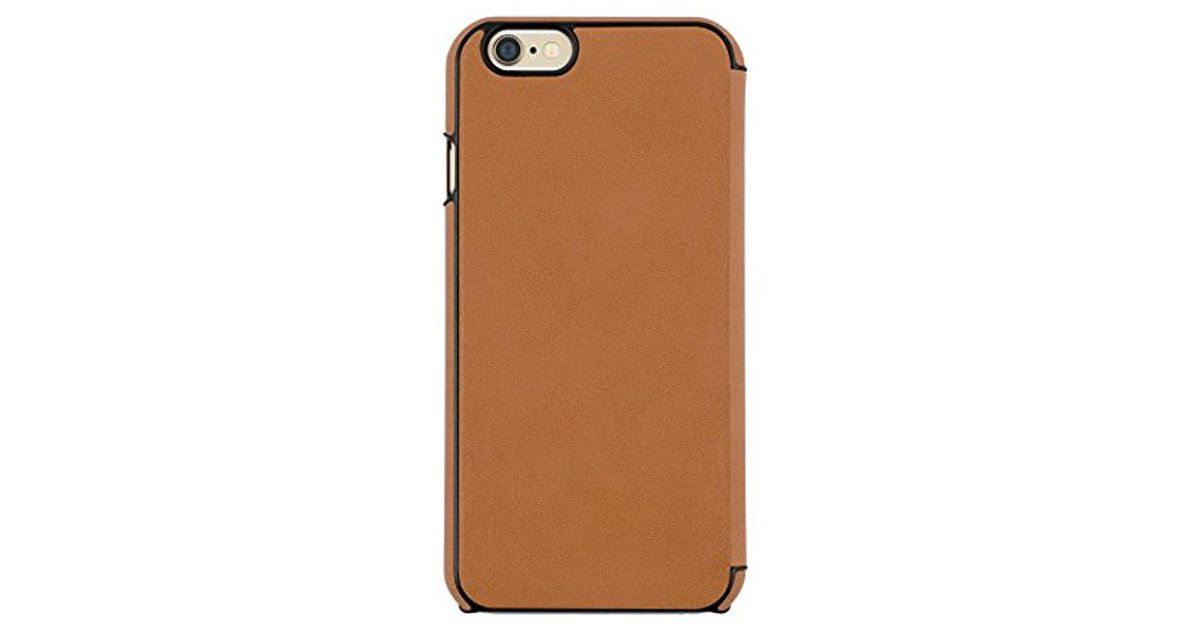 super popular 035c5 514d8 Jack Spade - Brown Iphone 6s Case [shock Absorbing][textured] Cover Fits  Both Apple Iphone 6, Iphone 6s - Wood Veneer Walnut - Lyst