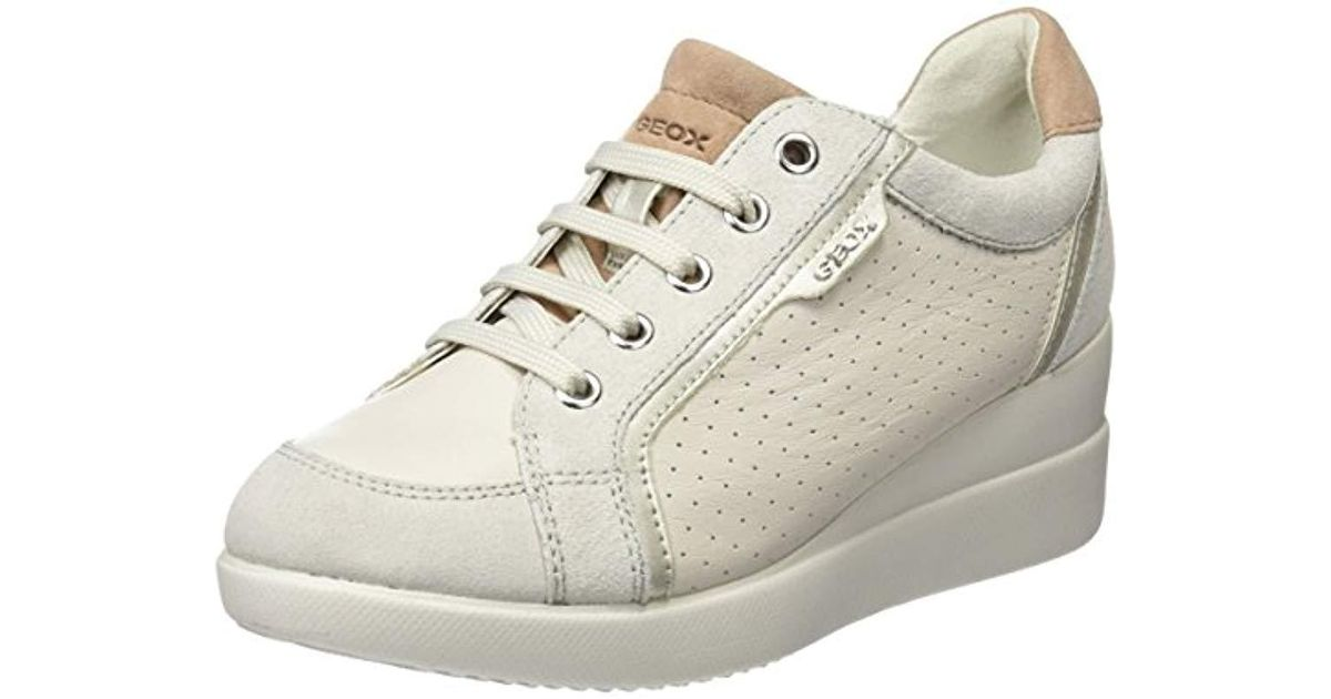 1ecce19c26a4 Geox D Stardust A Low-top Sneakers in White - Lyst