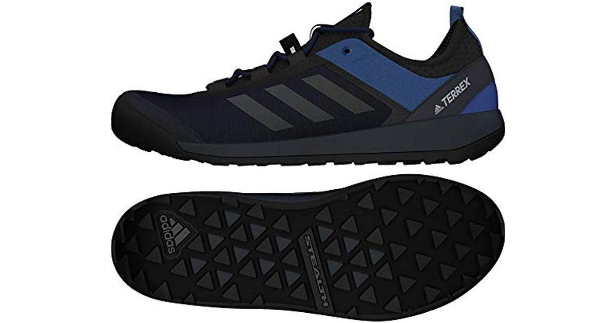 054920e72 adidas  s Terrex Swift Solo Nordic Multisport Outdoor Shoes in Blue for Men  - Lyst