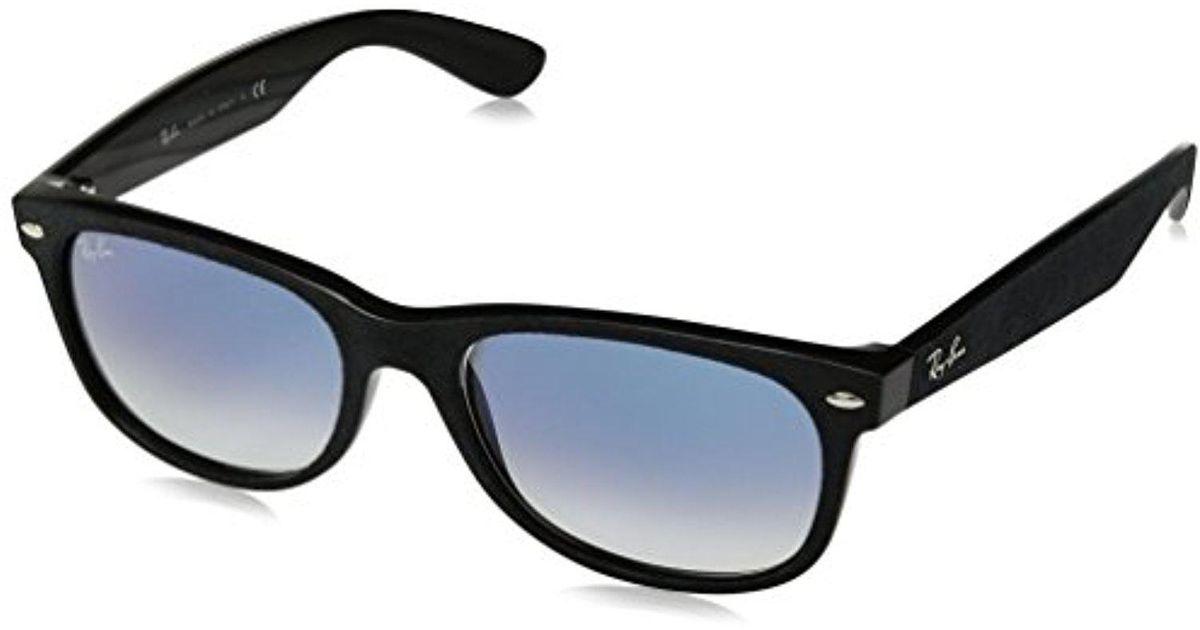 cc509c5ff5b Lyst - Ray-Ban Rb2132 62423f New Wayfarer With Alcantara Non-polarized  Sunglasses