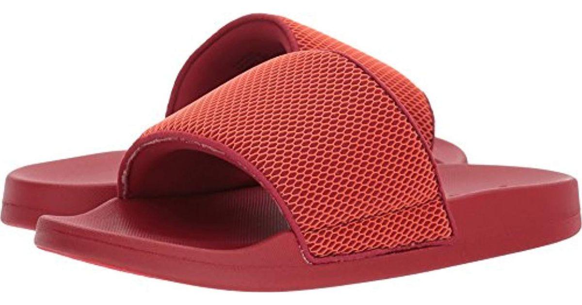 e918a3ce0c8 Steve Madden Red Ransom Slide Sandal for men