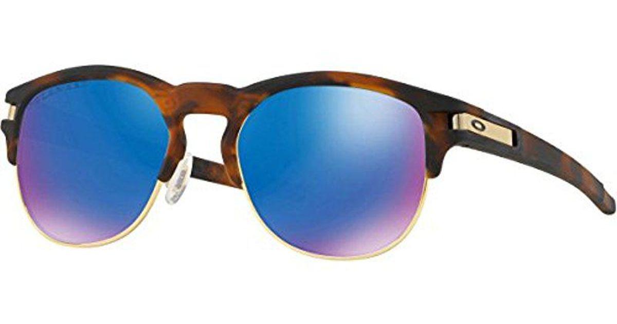 f503cb83e00de ... amazon.in clothing accessories 62818 a2dc3  best price lyst oakley  latch key m polarized sunglasses in brown for men save 20.207253886010363  3b26c