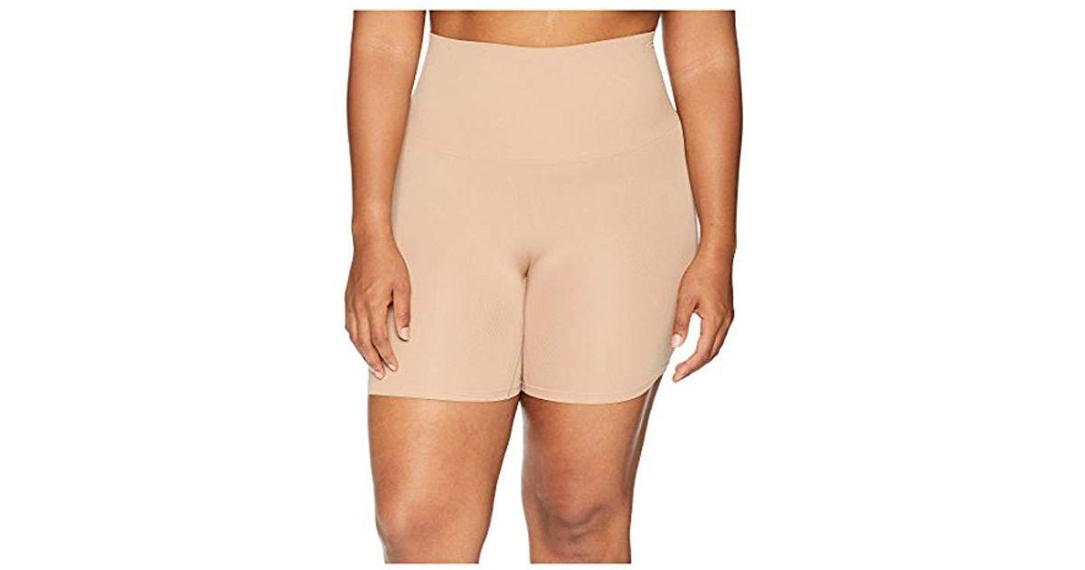 33617f6275b01 Lyst - Yummie Plus Size Ultralight Seamless Shapewear Short in Natural