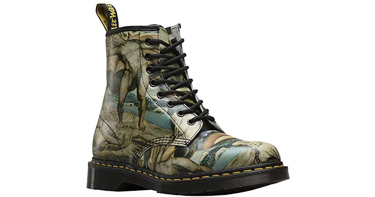 promo code 5edc6 f054f dr-martens-Multicolore-Dr-Martens-Unisex-1460-William-Blake-8-eye-Leather-Lace-Up-Boot-Multi.jpeg