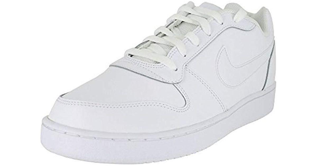 1c234730139 Lyst - Nike Ebernon Low Basketball Shoe in White for Men