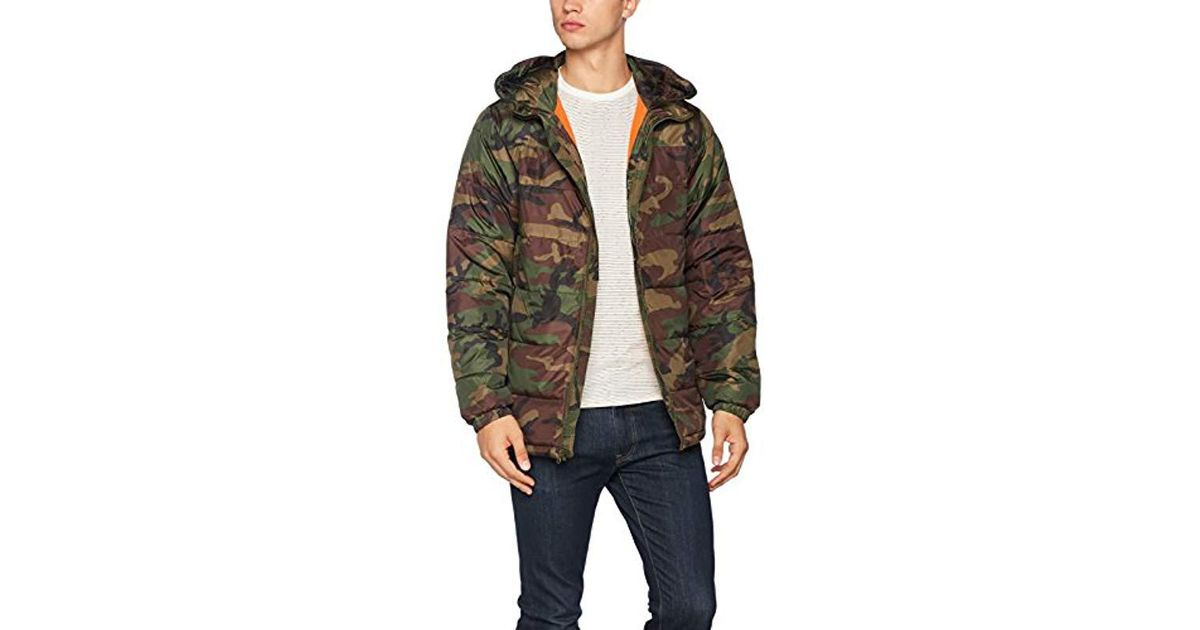91ada876b2 Vans Woodcrest Mte Jacket in Green for Men - Lyst