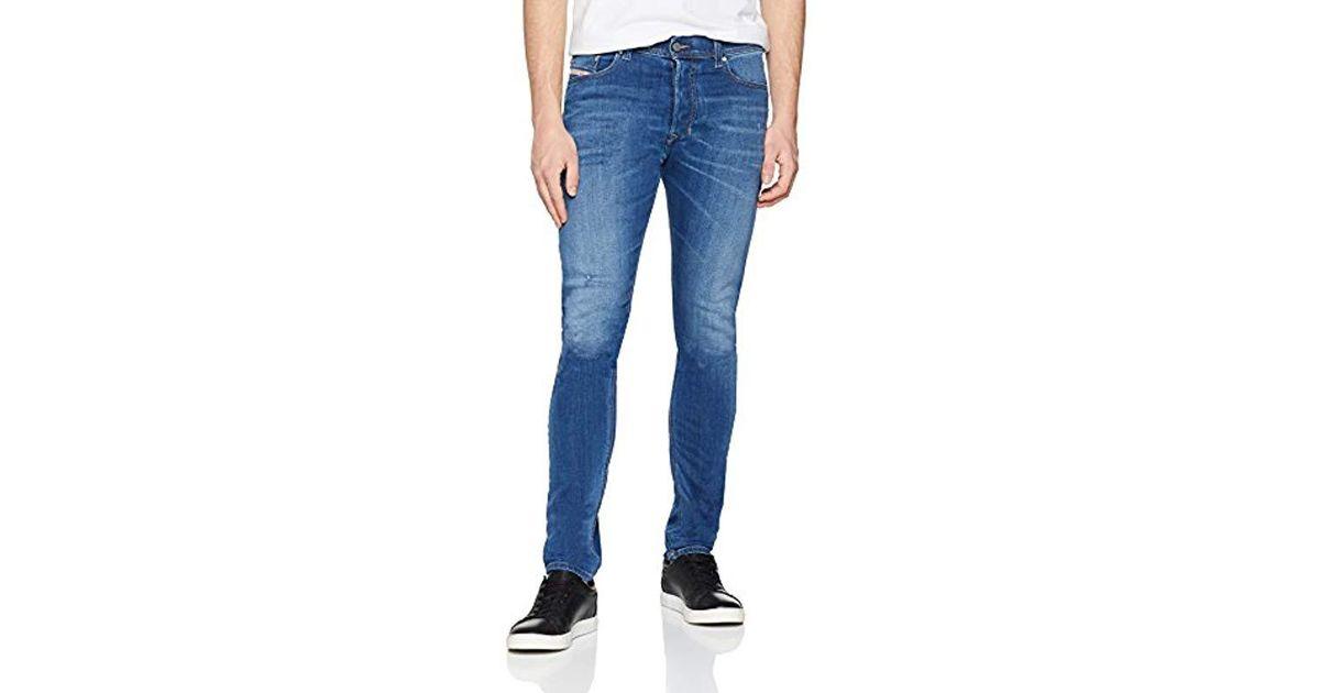 4f69afb1 Diesel Tepphar Trousers Slim Jeans in Blue for Men - Lyst