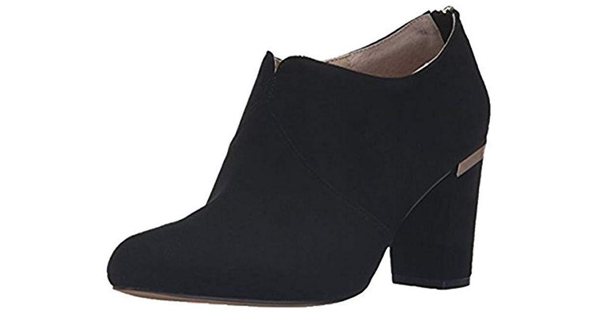 4cff39dd793 Lyst - Adrienne Vittadini Footwear Katana Ankle Bootie in Black