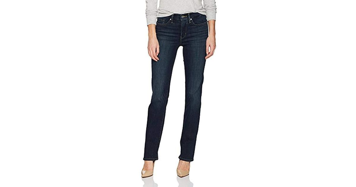 118e3d4da75 Lyst - Levi s 314 Shaping Straight Jean in Blue