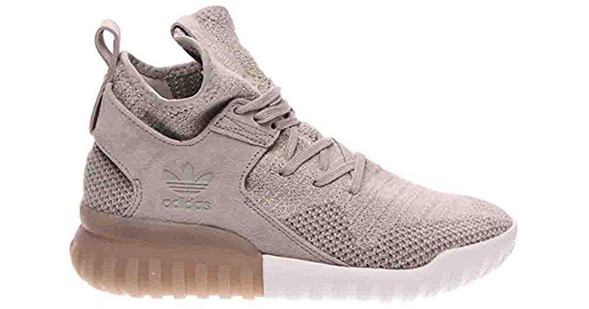 purchase cheap 39925 924e9 Adidas Originals - Gray Tubular X Pk Fashion Sneakers for Men - Lyst
