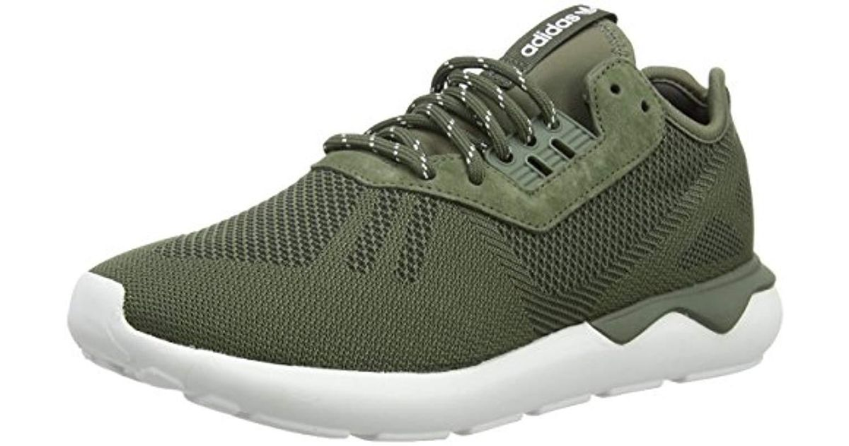 4417ad76aeb6 adidas Tubular Runner Weave Running Shoes in Green for Men - Lyst