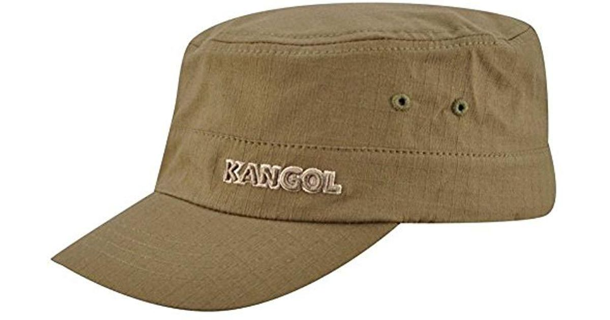 a88e860c620818 Lyst - Kangol Ripstop Army Cap in Green for Men