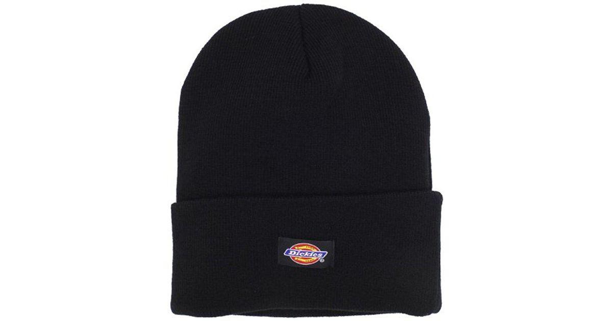 Lyst - Dickies 14 Inch Cuffed Knit Beanie Hat in Black for Men 1af2b28619e