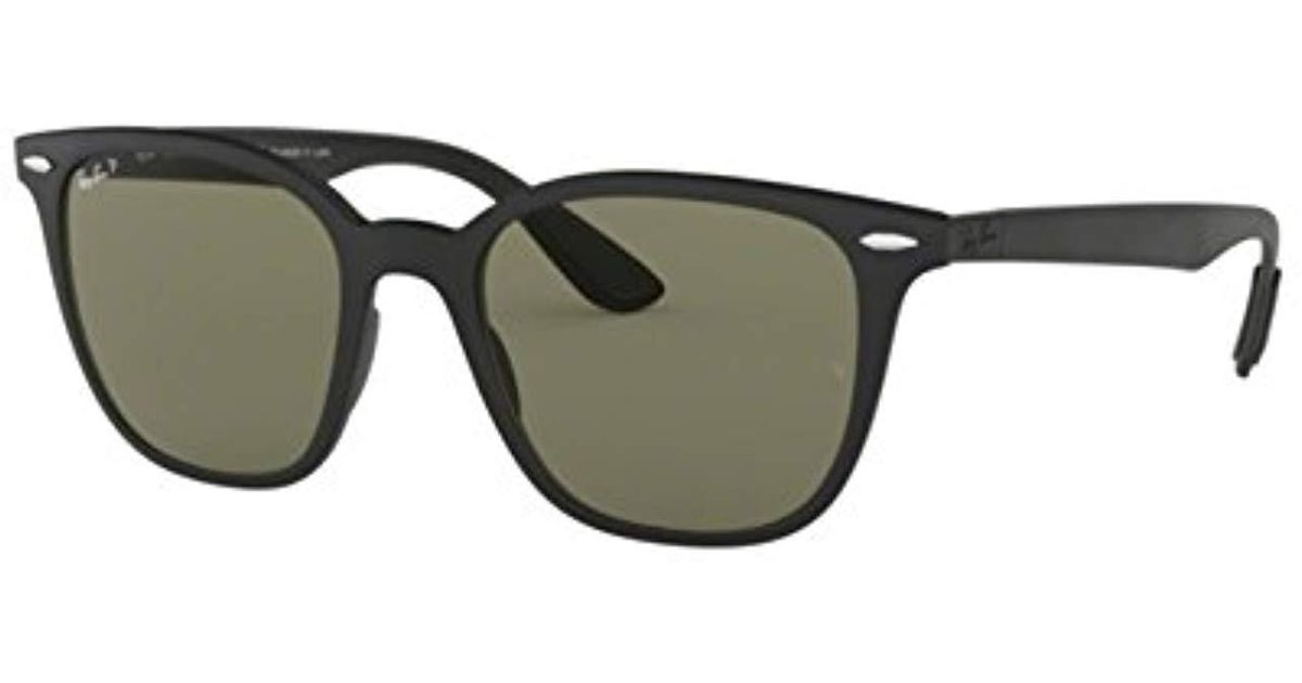 98424ae9af17e Lyst - Ray-Ban Plastic Unisex Sunglass Polarized Square