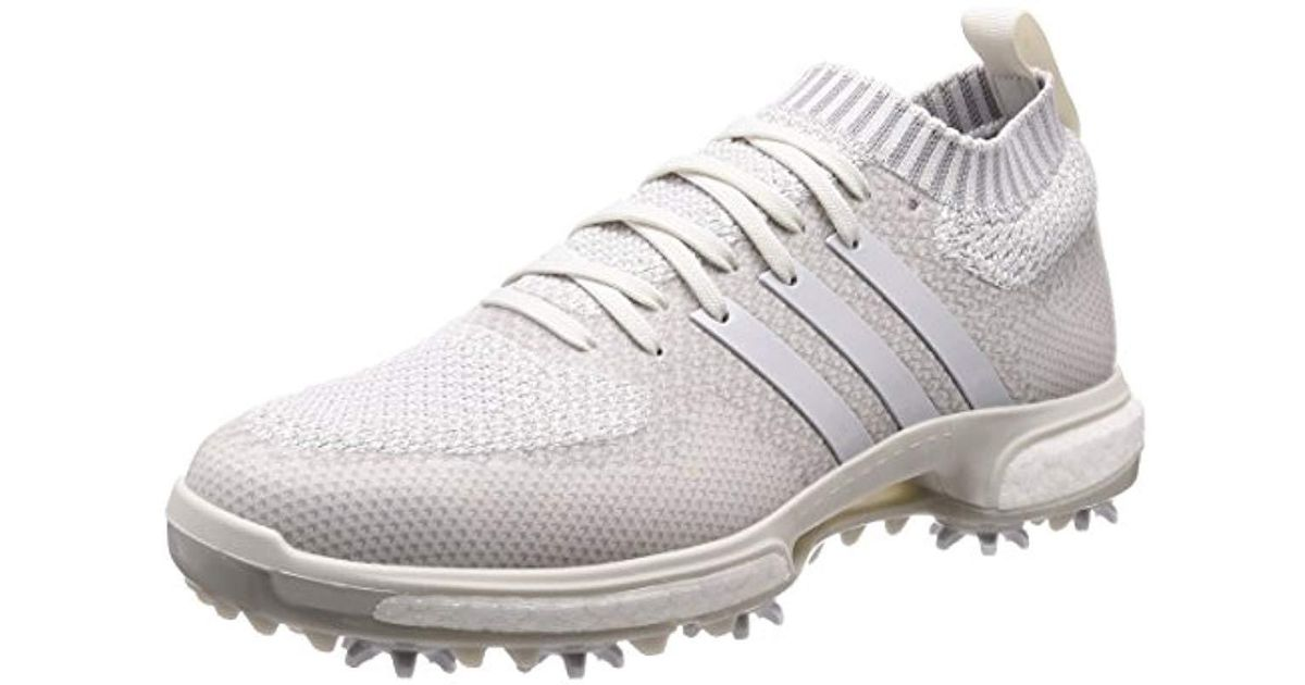 adidas Tour 360 Knit Golf Shoes in White for Men - Lyst 8d4f4a631