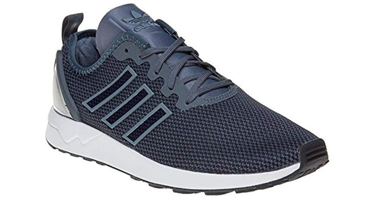 dee6e3892 adidas Zx Flux Adv Running Shoes in Blue for Men - Lyst