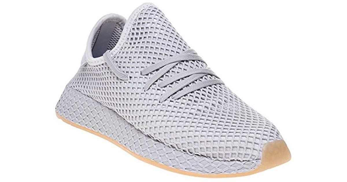 new style 7c0dc 1ead2 Adidas Deerupt Runner W Gymnastics Shoes in Gray - Lyst